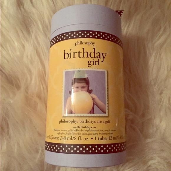 New Philosophy Birthday Cake Gift Set